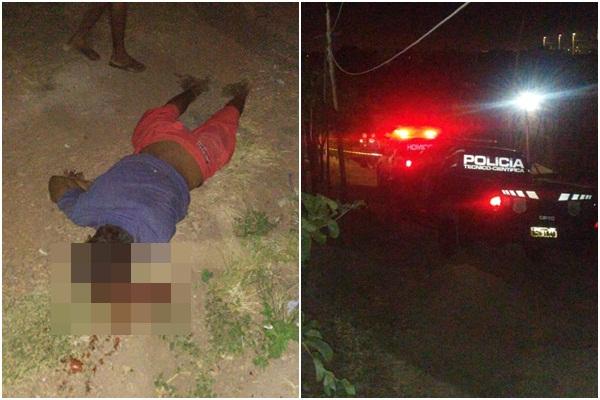 Homem é assassinado a tiros em via pública em Teresina