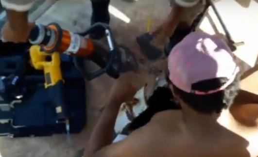 Trabalhador fica preso dentro de tanque de caminhão em Teresina