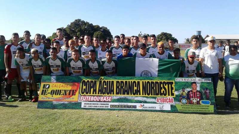 Cidade de Barro Duro recebe jogos da Copa do Nordeste Sub-15 e Sub-17