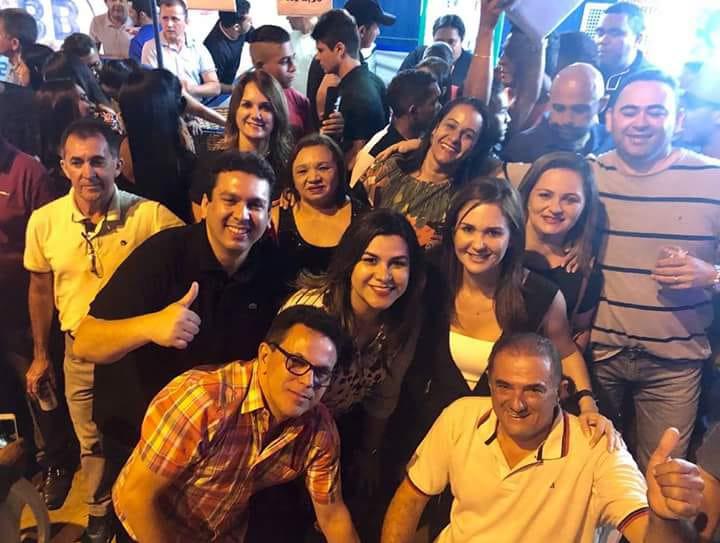 Autoridades prestigiam Urufolía em Uruçuí, a convite do deputado Zé Santana