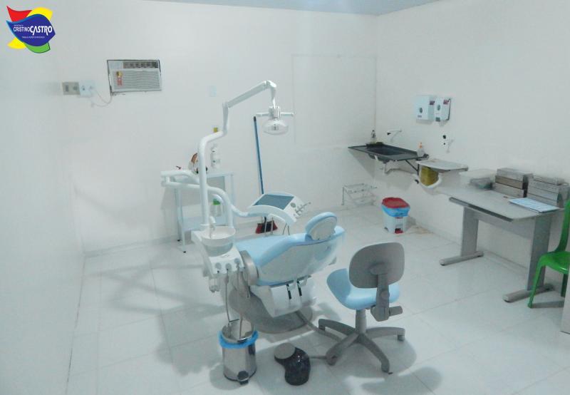Secretaria de Saúde de Cristino Castro investe em reformas nos Consultórios Odontológicos