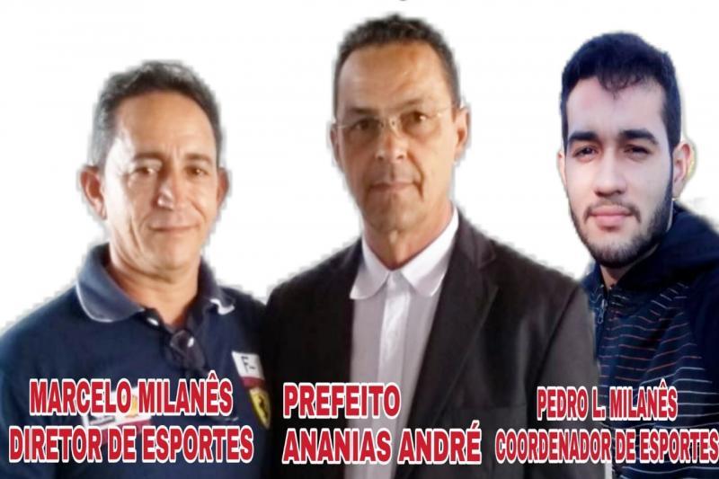 Modalidades esportivas nos festejos da localidade Belém tem apoio de Ananias André