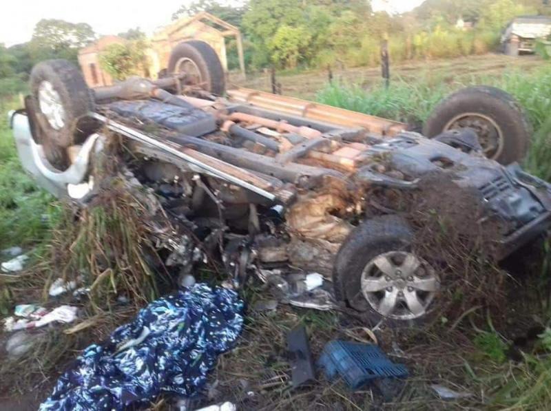 Casal portuense morre após grave acidente na BR-316 em Castanhal-PA