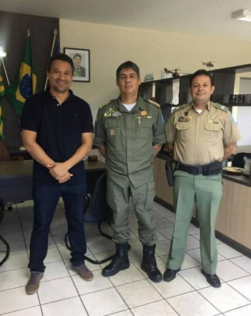 Foto reproduzida ( prefeito Rômulo Aécio)