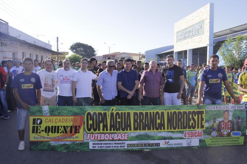 Copa Água Branca Nordeste movimenta cenário esportivo do Piauí