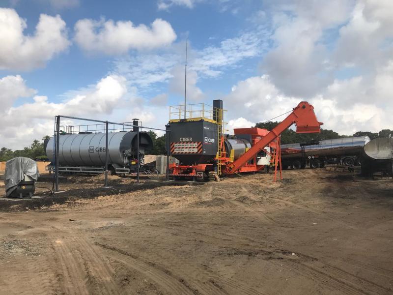 Prefeitura de Teresina inaugura nova usina de asfalto nesta sexta