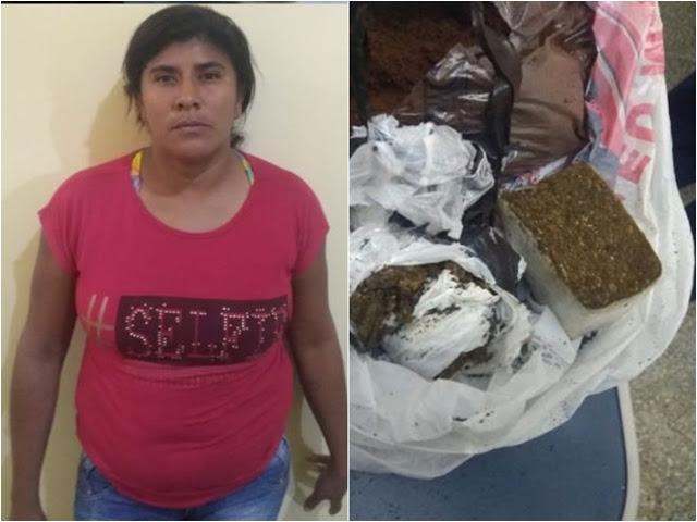 Mulher é presa ao tentar entrar com droga e celular em presídio no Piauí