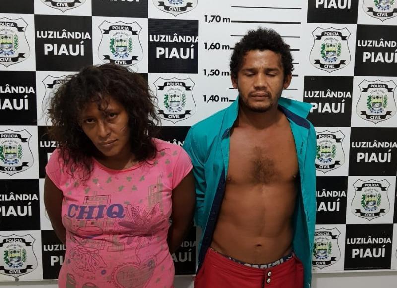 Casal é preso acusado de roubar, matar e assistir velório de vítima no Piauí