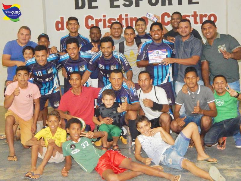 Cristino Castro: PIT BOYS é Campeão da I Copa do Vale do Gurguéia de Futsal