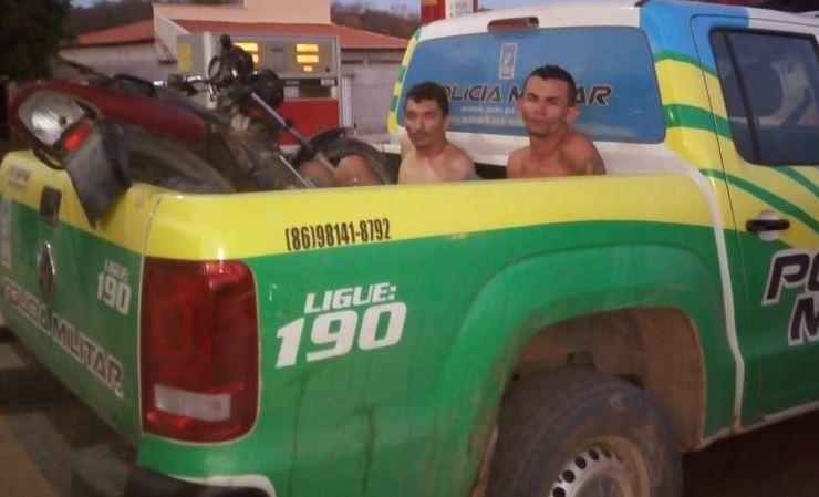 Dupla é presa por assalto a posto de combustível no Piauí