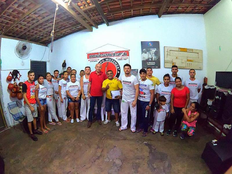 Warton Lacerda discute melhorias para a Associação de Capoeira do Piauí