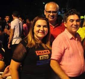 Prefeita Vilma Lima de São João do Arraial e Deputado Limma prestigiaram o Festival do peixe