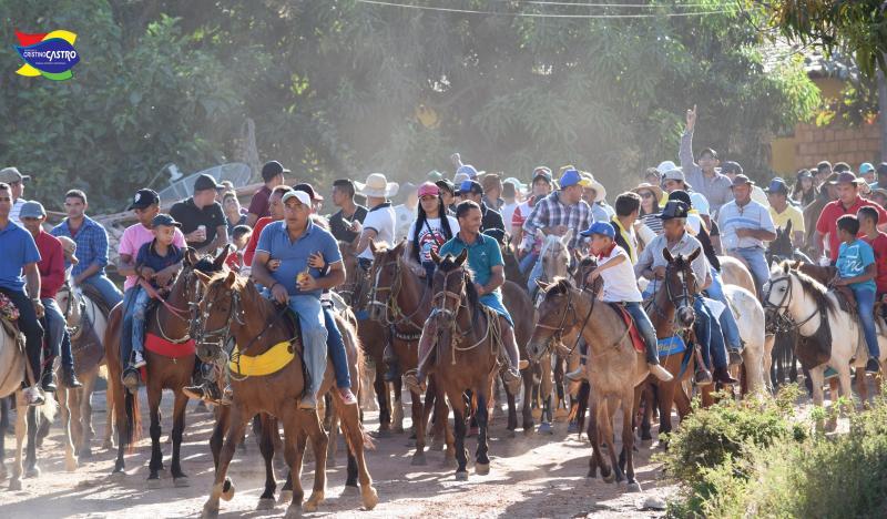 Vaqueiros de toda região participaram da I Grande Cavalgado do Festejos do Senhor Bom Jesus da Lapa