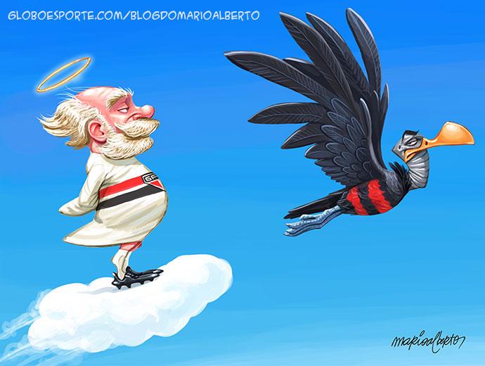 São Paulo e Flamengo travam briga acirrada pela  liderança do Brasileirão
