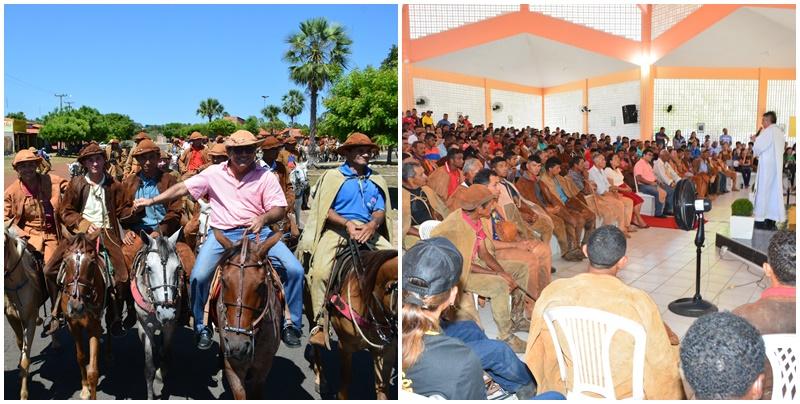 Tradicional Cavalgada e Missa do Vaqueiro foram prestigiadas por centenas de pessoas em Cabeceiras