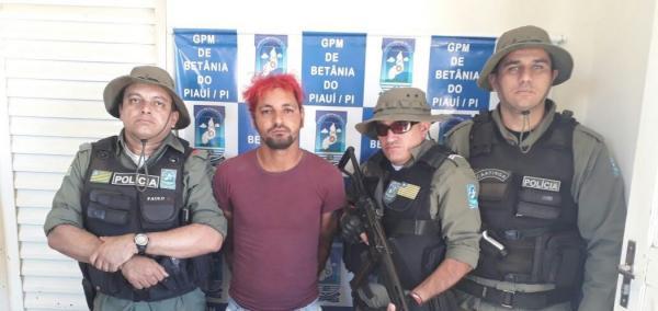 Homem é preso suspeito de furtos em Betânia do Piauí