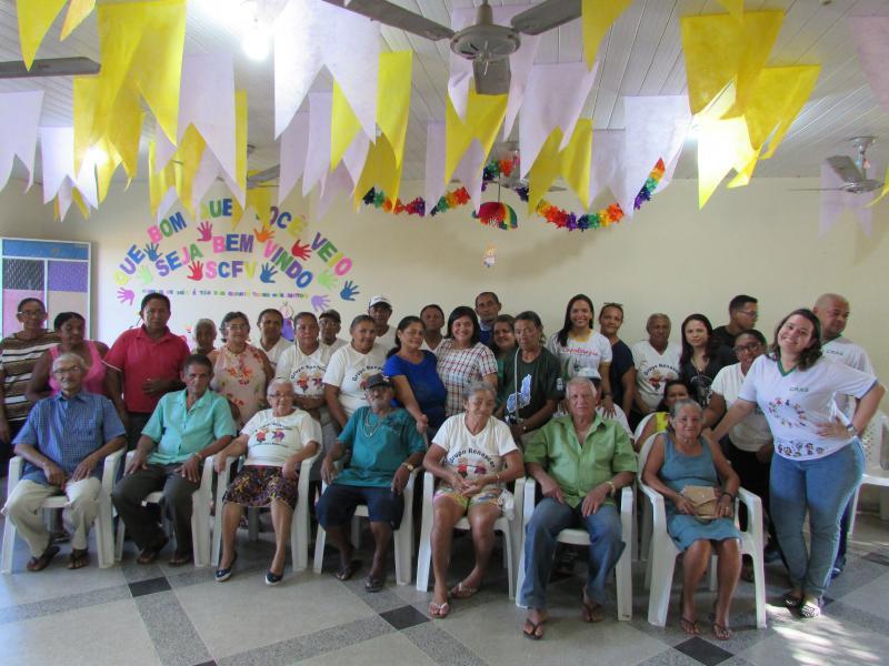 Prefeitura de Lagoinha do Piauí através do Cras realiza mais uma reunião dos idosos