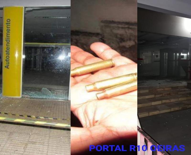 Bandidos explodem dois bancos em Oeiras e fazem reféns