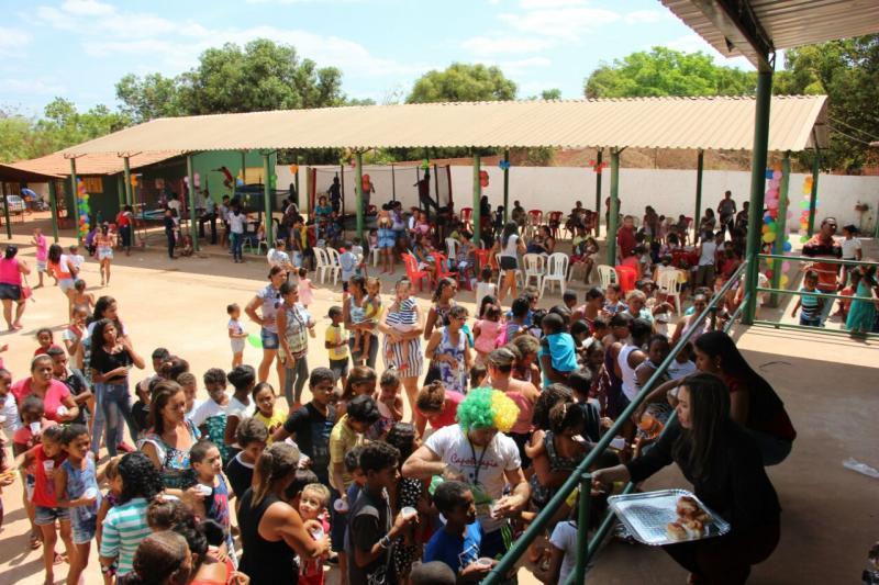 Prefeitura de Nazária realiza atividades encerrando o mês das crianças