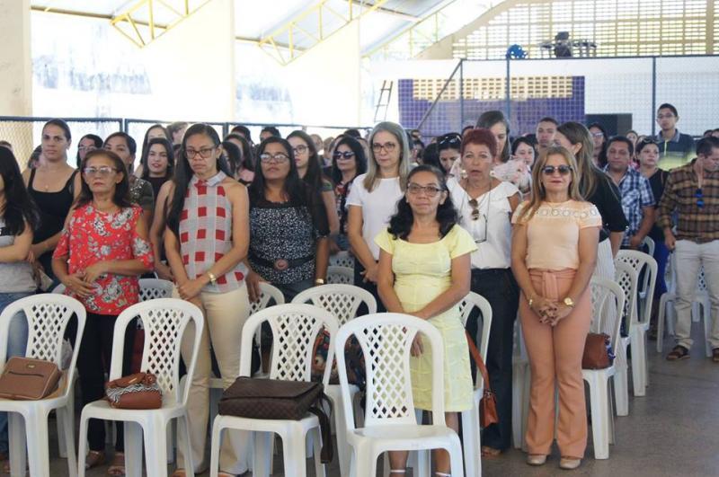 Jornada Pedagógica orienta professores de Altos para o segundo semestre letivo