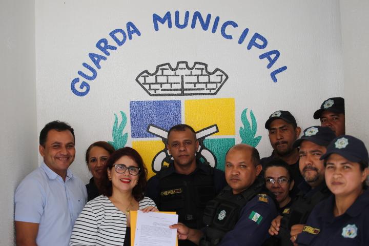 Convênio entre Governo e Prefeitura garante armamento para a Guarda Municipal de Altos