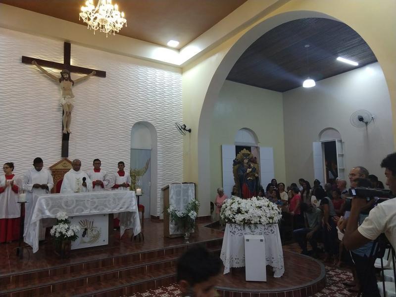 Demerval Lobão | Amanhã (03) missa da misericórdia às 19hs na igreja matriz. Participe!