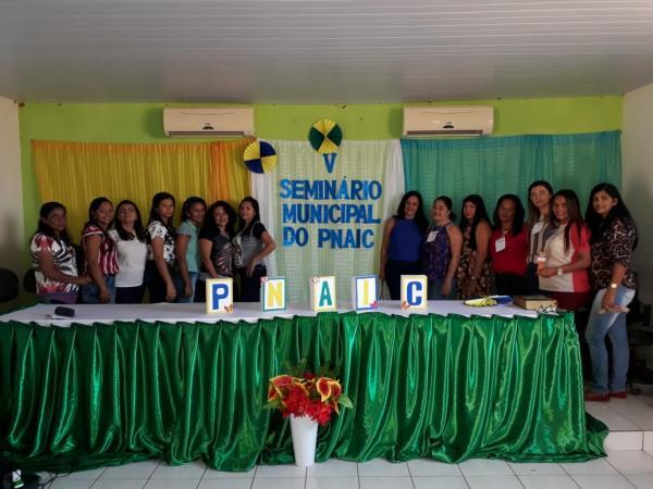 V Seminário Municipal do PNAIC em Landri Sales