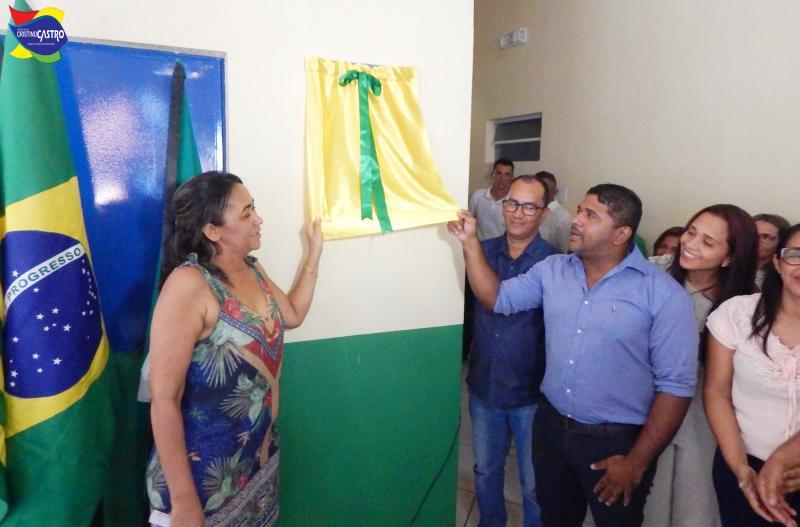 Cristino Castro ganha uma das escolas mais modernas do Sul do Piauí