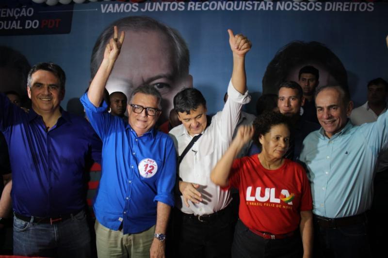 Partidos coligados homologam candidaturas durante convenções em Teresina