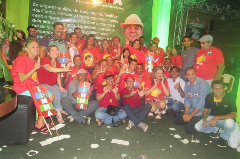 São Joanenses do Arraial participaram da Convenção Estadual do Partido dos Trabalhadores (PT)