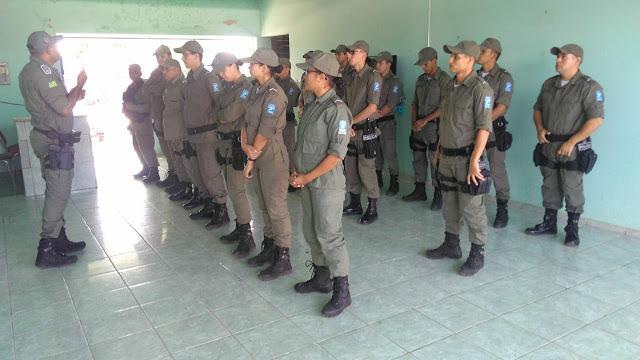 Novos policiais chegam a 2ªCIA/10ºBPM em Guadalupe