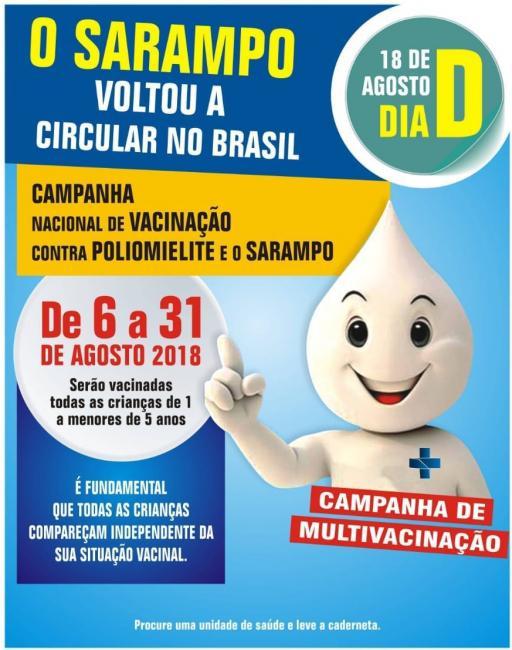 Campanha: secretaria de saúde de Olho D'água dará início a vacinação nesta segunda-feira dia 06