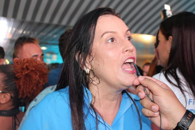 Cassandra Moraes afirma que Luciano terá uma vice fiscalizadora