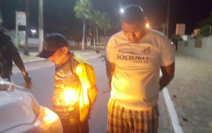 Polícia prende dupla em posse de entorpecentes no centro de Campo Maior