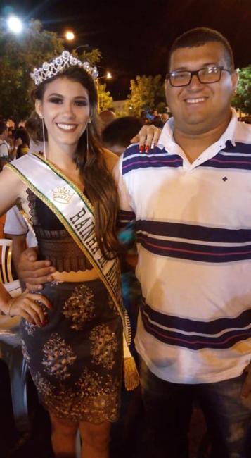 Sobrinha do diretor do SAMU de Itaueira ganhou o concurso rainha do milho 2018