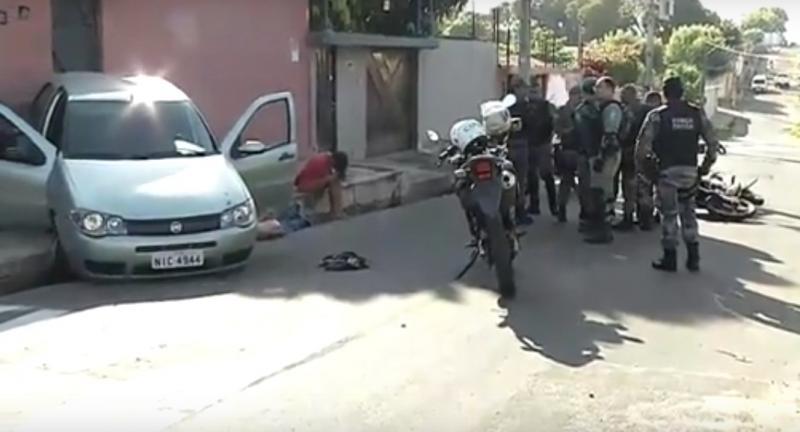 Criminoso morre após ser baleado pela polícia em Teresina