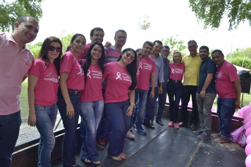 Secretaria de Saúde promove evento em atenção ao outubro rosa