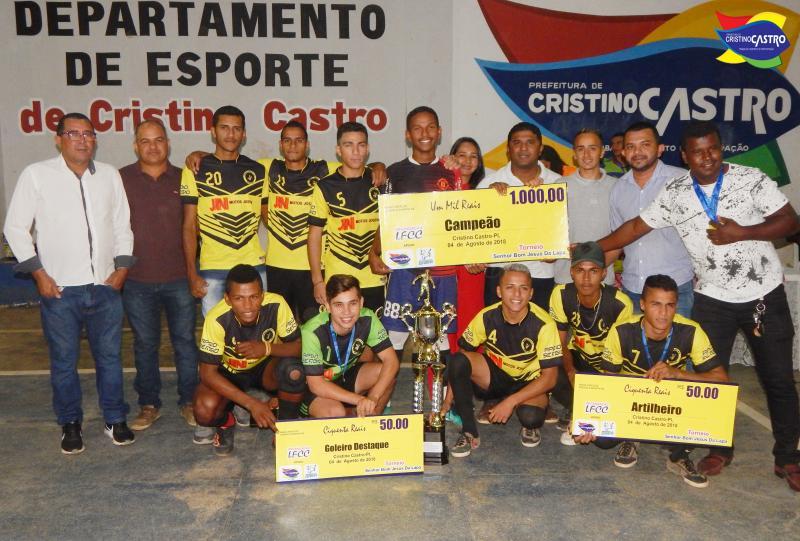 Final do Campeonato de Futsal dos Festejos do Senhor Bom Jesus da Lapa em Cristino Castro