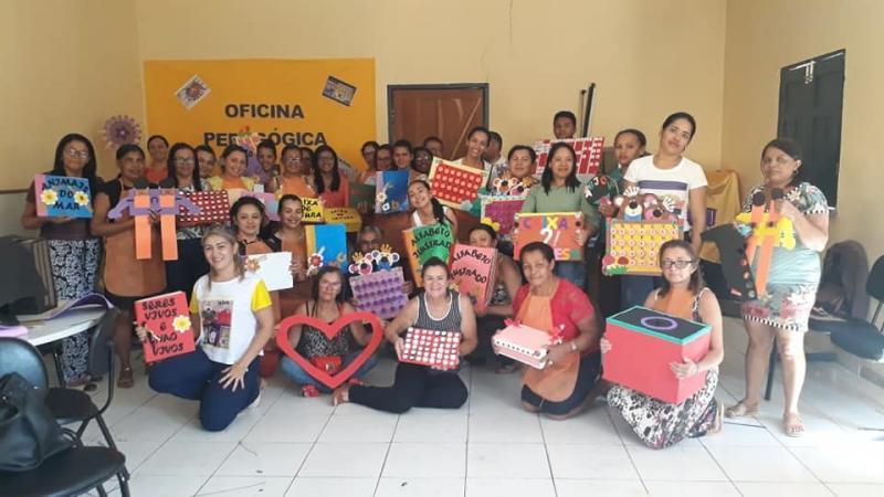 Jornada pedagógica é realizada pela Secretaria de Educação de Francisco Ayres