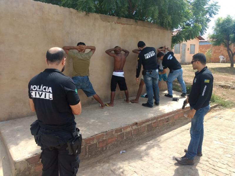 Polícia prende acusado de matar comerciante durante assalto no PI
