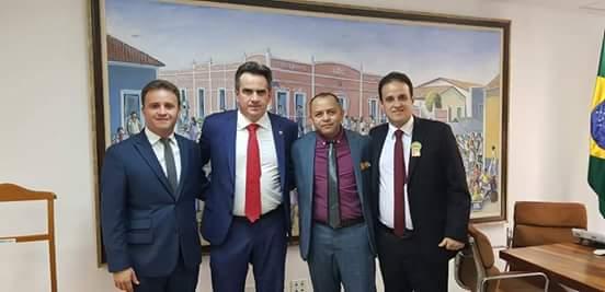 Prefeito Diego Teixeira buscando recursos para o município de Amarante; veja