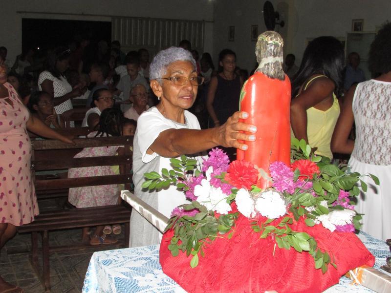 Procissão encerra última noite de festejos de Bom Jesus da Lapa da comunidade saquinho