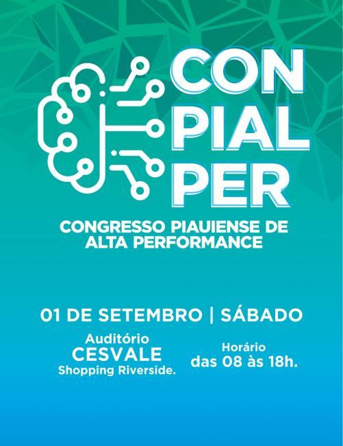 Congresso Piauiense de Alta Performance acontecerá dia 01/09 em Teresina