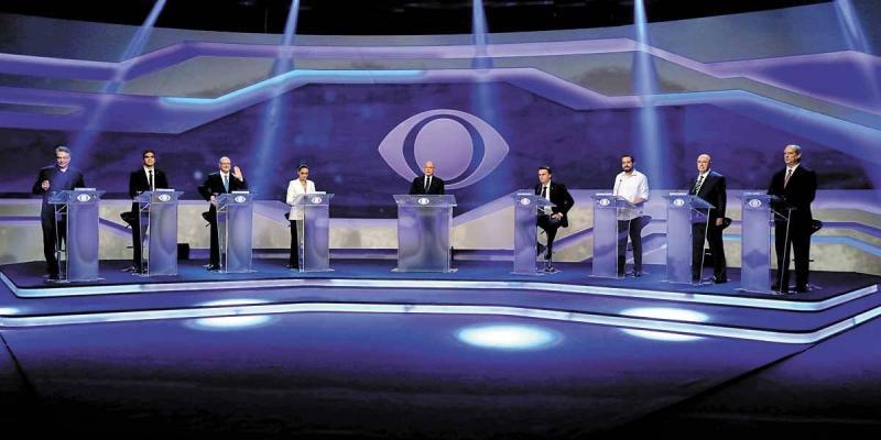 Confira como foi o primeiro debate entre presidenciáveis na TV