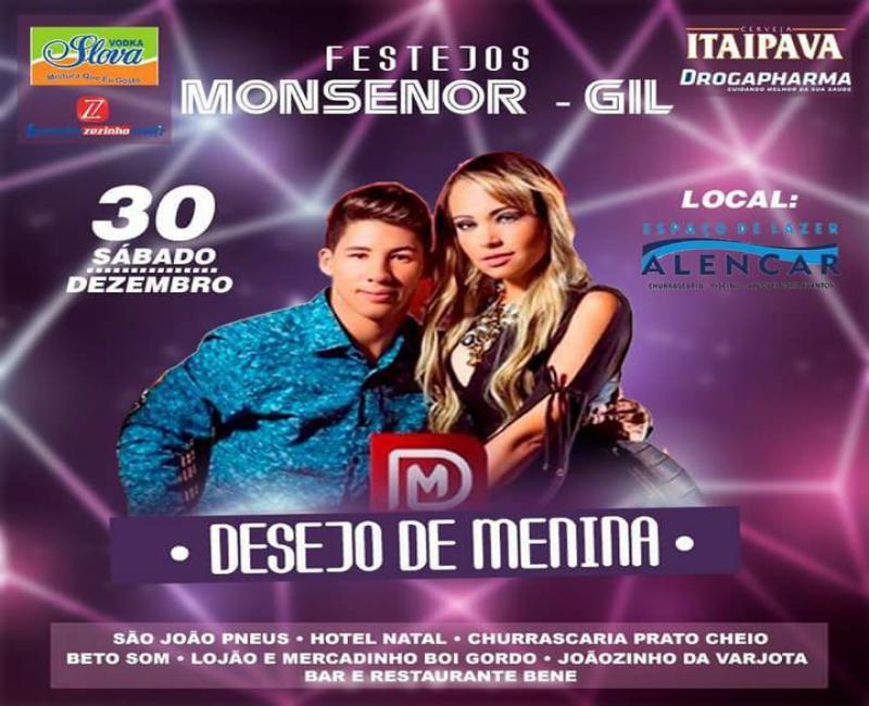 Assis Batista Produções e parcerias, promoverão grande show em Monsenhor Gil (PI)
