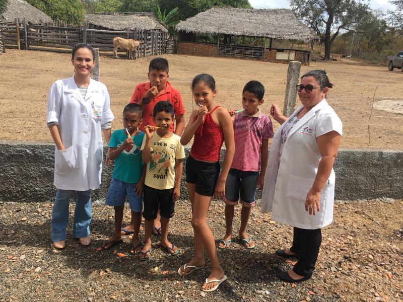 Projeto Saúde na comunidade realiza ação na localidade Paus de Chapada