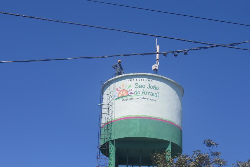 Prefeitura trabalha para resolver o problema de Abastecimento d'água do bairro Sossego