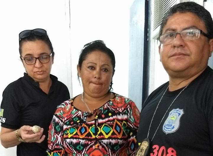 Mulher é presa tentando entrar com drogas em presídio do Piauí