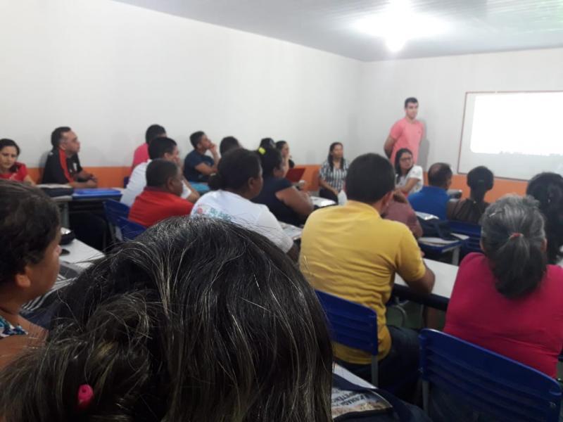 5° Encontro pedagógico da escola municipal e escolas da sede de Campo Largo-PI