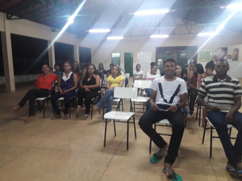 Pronatec de Olho D'água realiza palestra sobre empreendedorismo